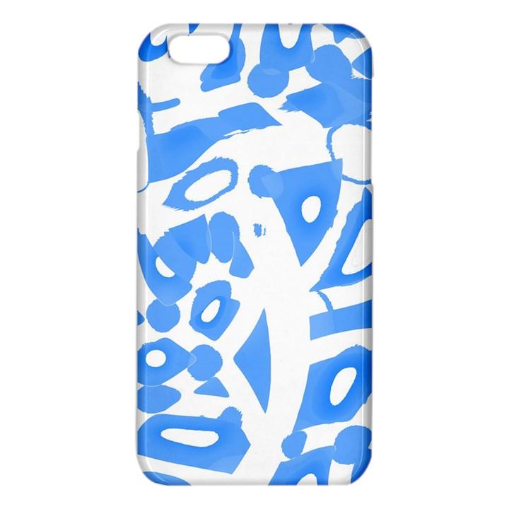 Blue summer design iPhone 6 Plus/6S Plus TPU Case