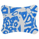 Blue summer design Jigsaw Puzzle Photo Stand (Bow) Front