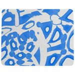 Blue summer design Jigsaw Puzzle Photo Stand (Rectangular) Front