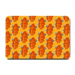 Bugs Eat Autumn Leaf Pattern Small Doormat  24 x16 Door Mat - 1