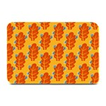 Bugs Eat Autumn Leaf Pattern Plate Mats 18 x12 Plate Mat - 1