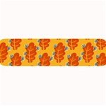 Bugs Eat Autumn Leaf Pattern Large Bar Mats 34 x9.03 Bar Mat - 1