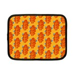 Bugs Eat Autumn Leaf Pattern Netbook Case (Small)  Front