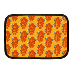 Bugs Eat Autumn Leaf Pattern Netbook Case (Medium)
