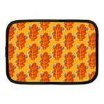 Bugs Eat Autumn Leaf Pattern Netbook Case (Medium)  Front