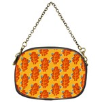 Bugs Eat Autumn Leaf Pattern Chain Purses (One Side)  Front