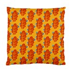 Bugs Eat Autumn Leaf Pattern Standard Cushion Case (Two Sides) Back