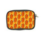 Bugs Eat Autumn Leaf Pattern Coin Purse Back
