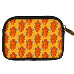 Bugs Eat Autumn Leaf Pattern Digital Camera Cases Back