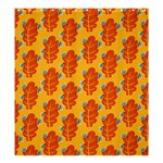 Bugs Eat Autumn Leaf Pattern Shower Curtain 66  x 72  (Large)  58.75 x64.8 Curtain