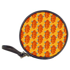 Bugs Eat Autumn Leaf Pattern Classic 20 Cd Wallets