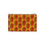 Bugs Eat Autumn Leaf Pattern Cosmetic Bag (Small)  Back