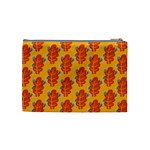 Bugs Eat Autumn Leaf Pattern Cosmetic Bag (Medium)  Back