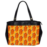 Bugs Eat Autumn Leaf Pattern Office Handbags (2 Sides)  Front
