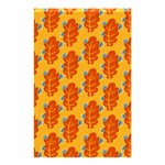 Bugs Eat Autumn Leaf Pattern Shower Curtain 48  x 72  (Small)  42.18 x64.8 Curtain