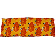 Bugs Eat Autumn Leaf Pattern Body Pillow Case (dakimakura)