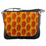 Bugs Eat Autumn Leaf Pattern Messenger Bags Front