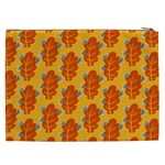 Bugs Eat Autumn Leaf Pattern Cosmetic Bag (XXL)  Back