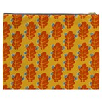 Bugs Eat Autumn Leaf Pattern Cosmetic Bag (XXXL)  Back