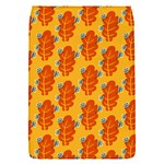 Bugs Eat Autumn Leaf Pattern Flap Covers (S)  Front