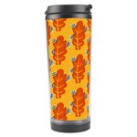 Bugs Eat Autumn Leaf Pattern Travel Tumbler Right