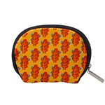 Bugs Eat Autumn Leaf Pattern Accessory Pouches (Small)  Back