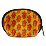 Bugs Eat Autumn Leaf Pattern Accessory Pouches (Medium)  Back