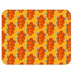 Bugs Eat Autumn Leaf Pattern Double Sided Flano Blanket (Medium)  60 x50 Blanket Back