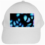 Blue light White Cap Front