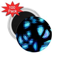 Blue light 2.25  Magnets (100 pack)