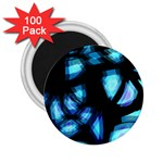 Blue light 2.25  Magnets (100 pack)  Front