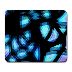 Blue light Large Mousepads