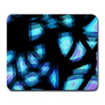 Blue light Large Mousepads Front
