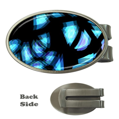 Blue light Money Clips (Oval)