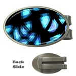 Blue light Money Clips (Oval)  Front
