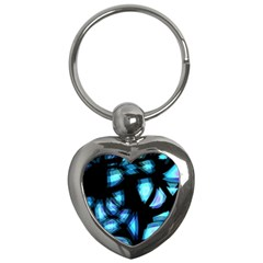 Blue light Key Chains (Heart)