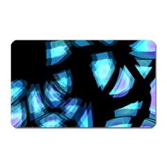 Blue Light Magnet (rectangular)