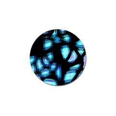 Blue light Golf Ball Marker (4 pack)
