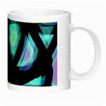 Blue light Night Luminous Mugs Right