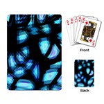 Blue light Playing Card Back