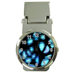 Blue light Money Clip Watches Front