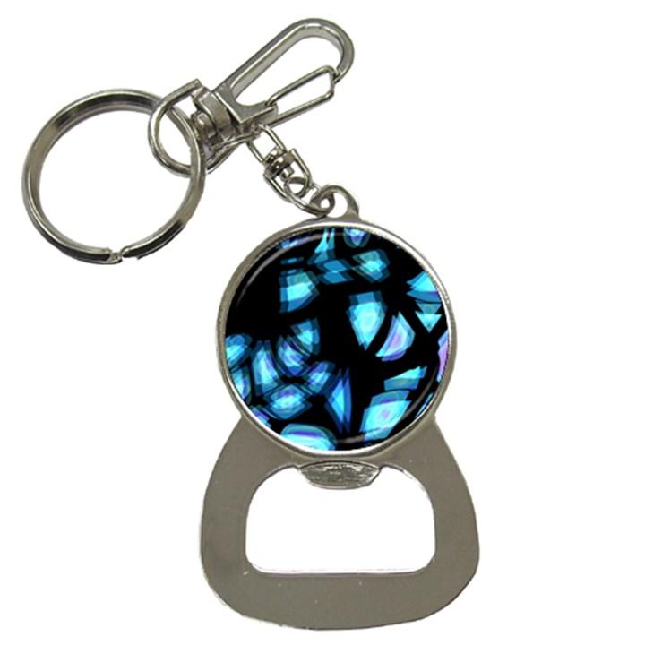 Blue light Bottle Opener Key Chains