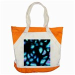 Blue light Accent Tote Bag Front