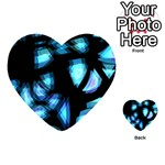 Blue light Playing Cards 54 (Heart)  Back