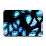 Blue light Small Doormat  24 x16 Door Mat - 1