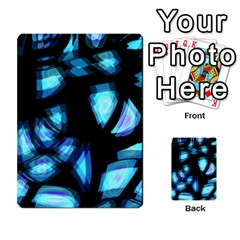 Blue light Multi-purpose Cards (Rectangle)