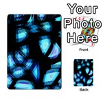 Blue light Multi-purpose Cards (Rectangle)  Back 25