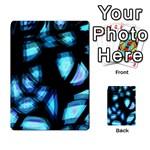 Blue light Multi-purpose Cards (Rectangle)  Front 40