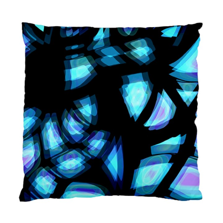 Blue light Standard Cushion Case (Two Sides)