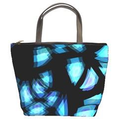 Blue Light Bucket Bags